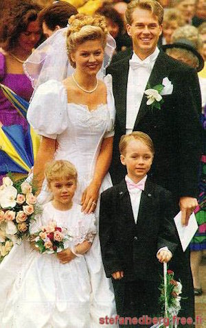 Edberg wedding