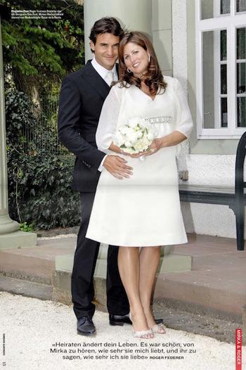 Federer wedding