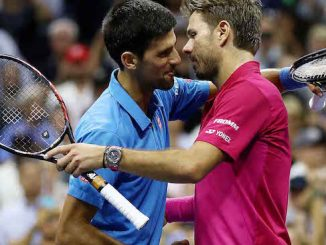 Stan Wawrinka beats Novak Djokovic in the final of a Grand Slam event for the second time.